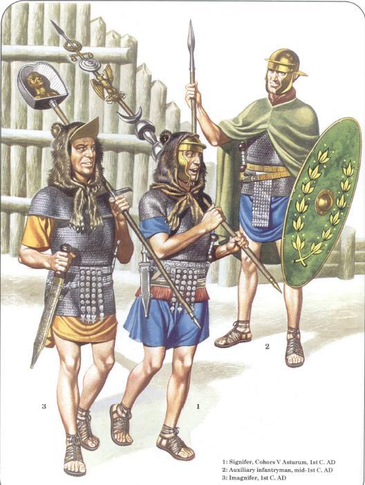 L'equipaggiamento del legionario