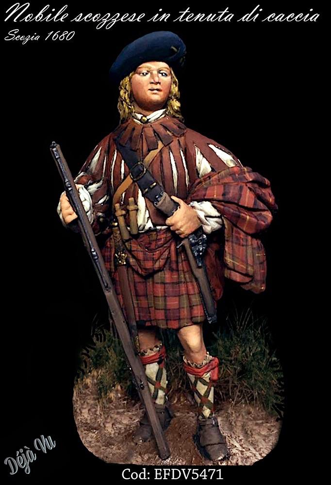Nobile Scozzese in tenuta da caccia 1785